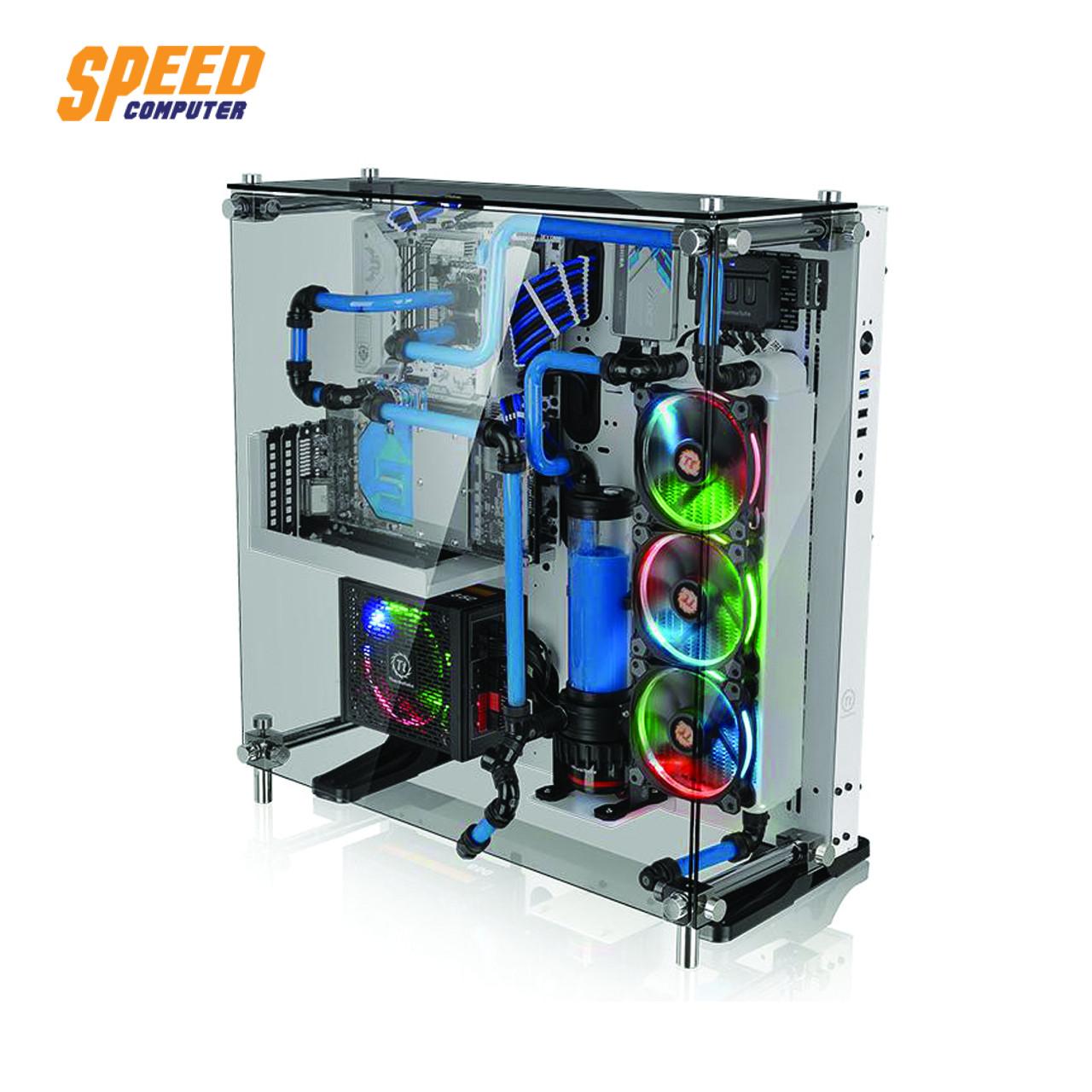 เคส THERMALTAKE CORE P5 TG WHITE | Speed Com | สินค้าไอทีและ