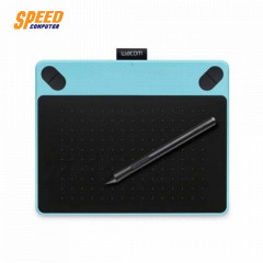 WACOM CTH-490/B0-C MOUSE PEN CREATIVE PEN&TOUCH TABLE  INTUOS  SMALL MINT BLUE FREE ART PACK
