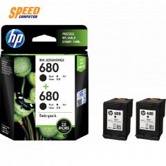 HP INK 680 BLACK TWIN 2PACK (X4E79AA)