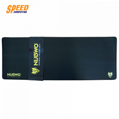 Nubwo Mouse Pad (แบบผ้า) NP020 Yellow