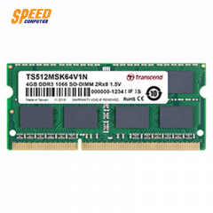 TRANSCEND RAM NOTEBOOK 4GB DDR3 BUS1066