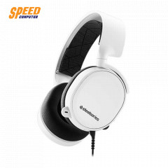 STEELSERIES HEADSET ARCTIS 3 WHITE (2019 EDITION) 7.1 ANALOG JACK 3.5MM. MAC/PC/XBOX/PS/MOBIEL/VR