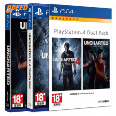 PS4-G DUAL PACK: UNCHARTED DOUBLE PACK (R3)(EN)