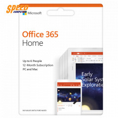 Microsoft Office365 Software Home English APAC EM Subscr 1Yr Medi (6GQ-00968)