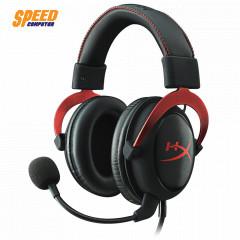 HYPERX GAMING HEADSET CLOUD II RED 7.1 SOUND CARD USB & JACK 3.5 MM.
