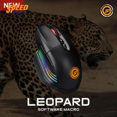 NEOLUTION E-SPORT MOUSE LEOPARD 16.8 M RGB COLORS LED/3200 DPI/7 BUTTONS/5 MILLION CLICKS