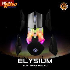 NEOLUTION E-SPORT MOUSE ELYSIUM 16.8 M RGB COLORS LED/6400 DPI/8 BUTTONS/10 MILLION CLICKS