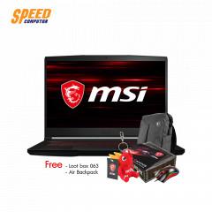 MSI GF63 THIN 10SCSR-220TH  i7-10750H+HM470/DDR IV 16 (8GB*2 2666MHz)/ 512GB NVMe PCIe SSD/GTX1650 Ti Max Q, GDDR6 4GB/15.6 FHD (1920*1080)/Win10/2 Year