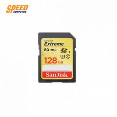 SANDISK SDSDXVF-128G-GNCIN CARD SD 128GB EXTREME  CLASS10 128GB - READ UP TO 90MB/SEC, WRITE UP TO 60MB/SEC,U3,V30,UHS-I,LIFETIME