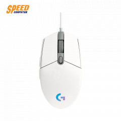 LOGITECH GAMING MOUSE G102 LIGHTSYNC WHITE 8000DPI