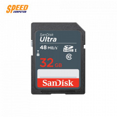 SANDISK SDSDUNB-032G-GN3IN CARD SD 32GB ULTRA CLASS10 SPEED UPTO 48MB/SEC ,7YEARS