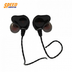 ANITECH EP26 STEREO EARPHONE DUAL DRIVER WITH MIC BK
