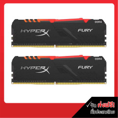 KINGSTON RAM PC HYPERX FURY 16GB BUS3200 RGB DDR4 8*2