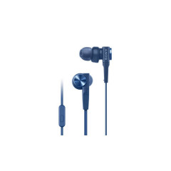 SONY MDR-XB55AP EXTRA BASS IN-EAR WITH MIC - BLUE