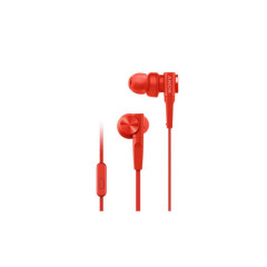 SONY MDR-XB55AP EXTRA BASS IN-EAR WITH MIC - RED
