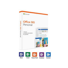 MICROSOFT OFFICE 365 PERSONAL ENGLISH SUBSCR 1YEAR