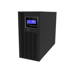 TRUE ONLINE UPS 2000VA/1800W WITH LCD DISPLAY, EXTERNAL BATTERY ENABLE,WITH BUILD-IN SNMP CARD ON-SITE SWAP 3 YEAR / BATTERY 3 YEAR