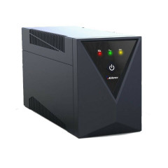 ABLEREX-650LS UPS 650va/360w with LED display, with USB, 4 backup outlet carry-in swap 3 year / battery 3 year
