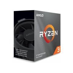 AMD CPU RYZEN3 3300X 4.3GHz MAX BOOST,3.8GHz 4C/8T