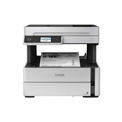 EPSON PRINTER M3170 Print/ Copy/ Scan/ Fax) Wifi Direct ความละเอียดในการพิมพ์ 1,200 x 2,400 dpi ความเร็วในการพิมพ์ ขาว-ดำ 39 หน้า/นาที รองรับการพิมพ์สองหน้าอัตโนมัติ รับประกันสินค้า 4 ปี หรือ 50,000