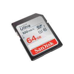 SANDISK SDSDUNR-064G-GN6IN CARD SD 64GB ULTRA CLASS10 90MB/S