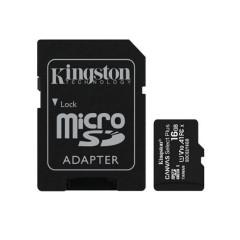 KINGSTON SDCS2 16GB MICRO SD CARD CANVAS SELECT PLUS C10 100MB/S READ LIFETIME