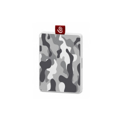 SEAGATE HARDDISK EXTERNAL STJE500404 SSD ONE TOUCH SPECIAL EDITION WHITE/GREY 3YEAR