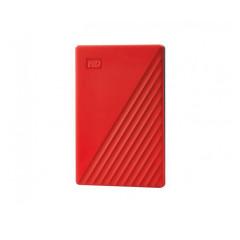 WESTERNDIGITAL HARDDISK EXTERNAL 4TB 2.5 MY PASSPORT WDBPKJ0040BRD-WESN RED USB3.2 GEN1 3YEAR