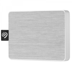 SEAGATE HARDDISK EXTERNAL SSD STJE500402 500GB ONE TOUCH WHITE USB 3.0 NEW 3YEAR
