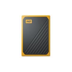 WESTERNDIGITAL WDBMCG0010BYT-WESN BLACK-YELLOW HDD EXTERNAL GO PORTABLE SSD 1TB USB 3.0 SPEED 400M/s 3 YEARS