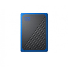 WESTERNDIGITAL WDBMCG5000ABT-WESN HDD EXTERNAL BLACK-BLUE GO PORTABLE SSD 500 USB 3.0 SPEED 400MB/S 3YEARS