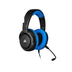 CORSAIR GAMING HEADSET HS35 STEREO BLUE 3.5MM 1Y