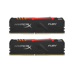 KINGSTON RAM PC HyperX FURY RGB (HX432C16FB3AK2/32) 32GB (16GBx2) DDR4/3200