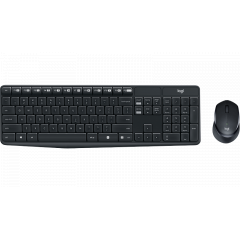 LOGITECH MK315 KEYBORD+MOUSE USB CABLE SILENT 3YEAR //