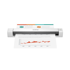 BROTHER SCANNER DS-640 Lightweight, portable document scanner Up to 15ppm scan speed One-touch scanning USB powered 1Y