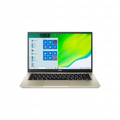 ACER SF314-510G-59A0 NOTEBOOK I5-1135G7/RAM 8GB/SSD 512GB/INTEL IRIS XE GRAPHICS (INTEGRATED)/14 FHD IPS/WiINDOWS10/OFFICE HOME&STUDENT2019/GOLD/backpack/2Yrs.