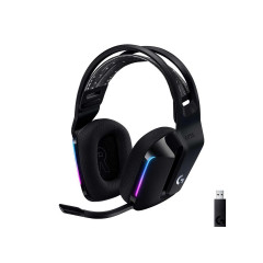 LOGITECH GAMING HEADSET G733 BLACK WIRELESS 7.1 SURROUND