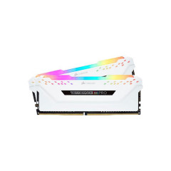 CORSAIR RAM PC CMW16GX4M2D3600C18 VENGEANCE? RGB PRO 16GB (2 x 8GB) DDR4 DRAM 3600MHz WHITE C18