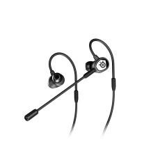 STEELSERIES TUSQ IN-EAR GAMING HEADSET - BLACK  1Yrs.