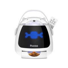 เครื่องให้ขนมสัตว์เลี้ยงอัตโนมัติ Pawbo iPuppyGo1 Year.