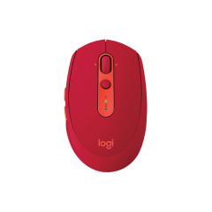 LOGITECH M590 MOUSE MULTI-DEVICE SILENT RED / BLUETOOTH // 365DAY