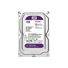 WD HARDDISK PC WD10PURZ INTERNAL PURPLE 1.TB/5400RPM 3.5INC SATA3 (6GB/S) 64MB CCTV(NEW CODE) AV 3Y