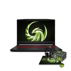 MSI_BRAVO15_B5DD-015TH NOTEBOOK Ryzen7 5800H/DDR IV 8GB 3200MHz/512GB NVMe PCIe SSD/RX5500M, GDDR6 4GB/15.6 FHD (1920*1080), 144Hz/WiFi6/WIN10/Stealth Trooper Backpack/Black/2Y