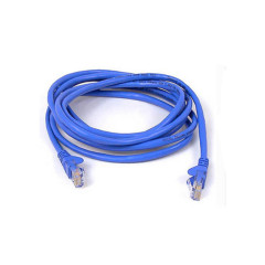 BELKIN-A3L980BT02MBLUS UTP Patch Snagless Cat6 RJ-45 Networking Cable - 2 Meter * Blue