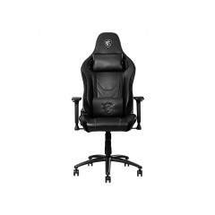 MSI-GAMING-CHAIR-MAG-CH130X Gaming Chair MAG/PVC Leather/150KG max weight/adjustable back angle90-150 degree/Carbon steel/BLACK/2 Yrs warranty