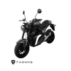 THOMAS_S2000_BIKE_BLACK  MOTOR 2000W BATTERY 72V 30AH 85 KM./H MAX DISTANCE 60-80KM./H TIME 2-3 HOURS LITHIUM MANGANATE/Warranty Motor3Yrs Battery2Yrs Electrical1Yr