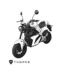 THOMAS_S2000_BIKE_GRAY  MOTOR 2000W BATTERY 72V 30AH 85 KM./H MAX DISTANCE 60-80KM./H TIME 2-3 HOURS LITHIUM MANGANATE/Warranty Motor3Yrs Battery2Yrs Electrical1Yr
