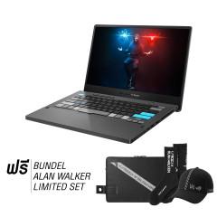 ASUS_GA401QEC-K2064TS NOTEBOOK AMD Ryzen9 5900HS/8GB DDR4 on board+8GB DDR4-3200/1TB M.2 NVMe PCIe/RTX3050Ti 4GB GDDR6/14-inchWQHD 120Hz/Win10/Office H&S/Wifi6/ROG sleeve+AW bundle set/Black/3Yrs OSS