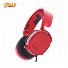 STEELSERIES HEADSET ARCTIS 3 RED 7.1 ANALOG JACK 3.5MM. MAC/PC/XBOX/PS/MOBIEL/VR