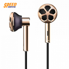 1MORE HEADPHONE IN EAR E1008 GOLD DUALL DRIVER JACK 3.5 MM. IOS,Android